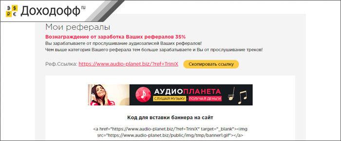 сайты для заработка в интернете на прослушивании музыки